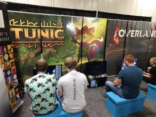 Tunic was promising